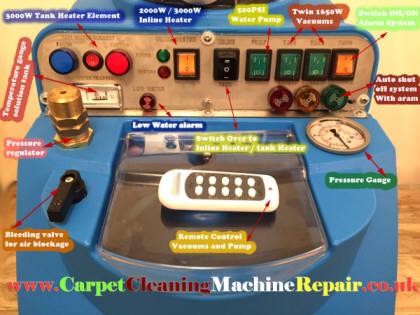 Remote Control Carpet Cleaning Machine